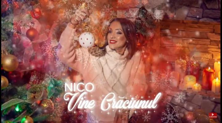 """NICO - """"Vine Craciunul"""". Asculta aici cea mai noua melodie a artistei!"""
