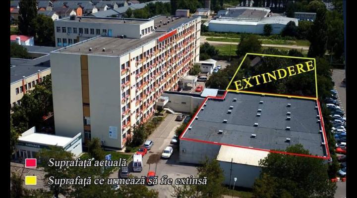 Extinderea și modernizarea Unității de Primiri Urgențe a SJU Ploiești, pe ultima suta de metri