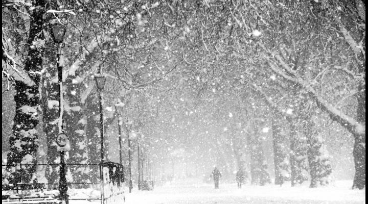 Avertizare de ninsori și strat nou de zăpadă, intensificări temporare ale vântului, precipitații mixte si polei , in Prahova