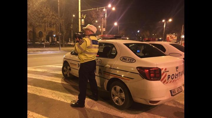 Actiune a Politiei Rutiere, pe Bulevardul Independentei pentru combaterea excesului de viteza