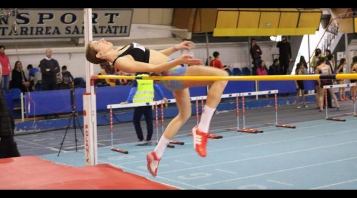 Prahoveanca Teodora Iancu, campioană naţională la săritura în înălţime