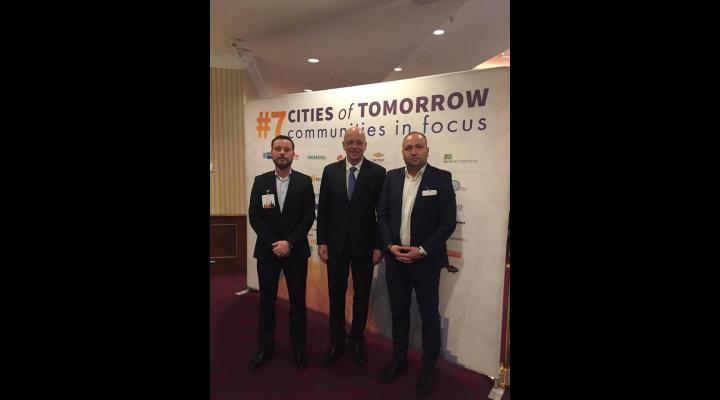 """Directorul RASP Ploiesti, prezent la  cea de-a șaptea ediție a conferinței """"Orașele de mâine"""""""