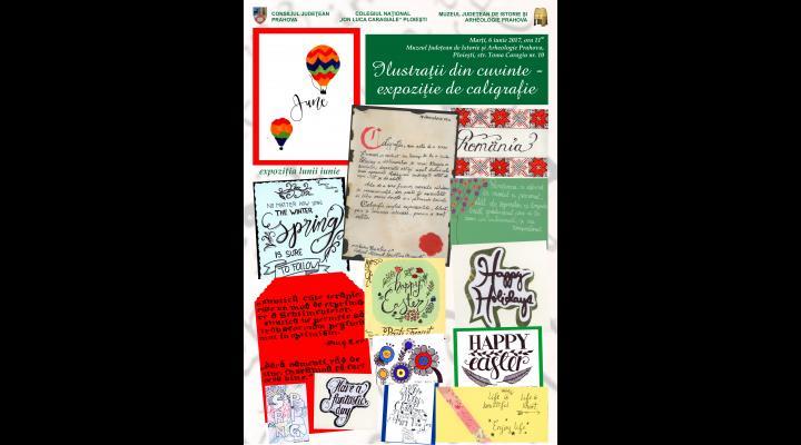 Expoziție de caligrafie, la Ploiești