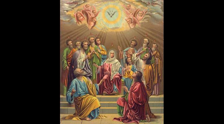 Credincioșii ortodocși sărbătoresc astăzi Rusaliile sau Pogorârea Sfântului Duh. Află de aici  semnificația sărbătorii