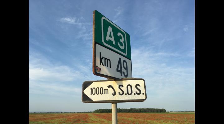 Ce a pățit un bărbat care mergea cu 219 kilometri pe oră, pe A3