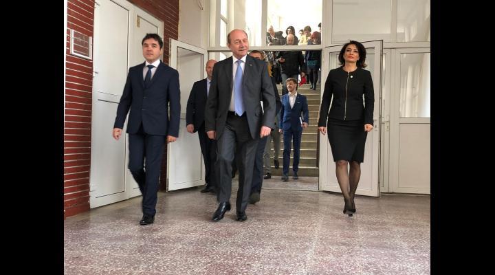 Traian Băsescu, președintele onorific al PMP, va veni joi, 16 mai, la Ploiesti. La ora 18.30 se va întâlni cu simpatizanții în Aula Universității Petrol-Gaze