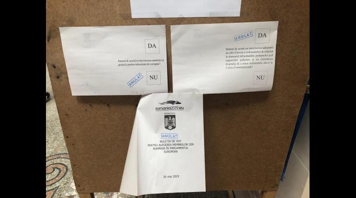 Nereguli sesizate Poliției Prahova, în ziua alegerilor
