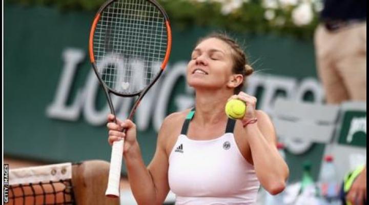 Simona Halep s-a calificat în finala Roland Garros