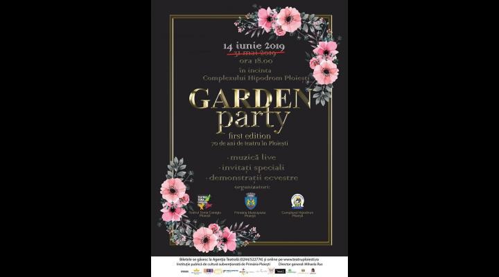 70 de ani de existenta, sarbatoriti de Teatrul Toma Caragiu, la Garden Party, un eveniment unic in Ploiesti