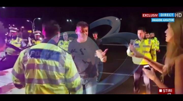 Cristian Boureanu, scandal în trafic cu Poliția Rutieră. Are dosar penal