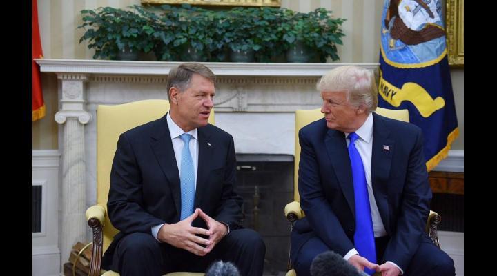 Întâlnire istorică: Klaus Iohannis în vizită la Donald Trump, la Casa Albă