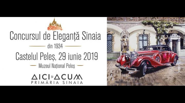 """Ce faceți sâmbătă? La Sinaia este Concursul de Eleganță,  """"un spectacol deosebit al mașinilor rare"""""""