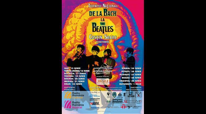 """""""De la Bach la Beatles"""" - concert de chitară la Ploiești care va fi susținut de Costin Soare (VIDEO)"""