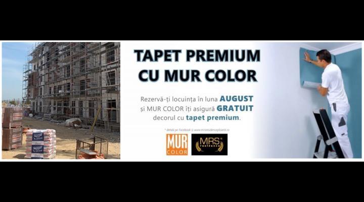 O nouă campanie pentru proiectul MRS Residence SMART din Ploiești, de data aceasta susținută de MUR Color-creator de interior și exterior, vopsele și tapet premium
