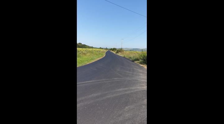 Programul județean de covoare asfaltice 2019  este în derulare
