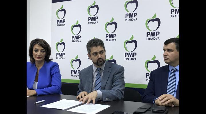 FOTO/VIDEO: Candidatul PMP la alegerile prezidențiale, Theodor Paleologu, s-a  întâlnit, vineri, cu popularii prahoveni la Ploiești