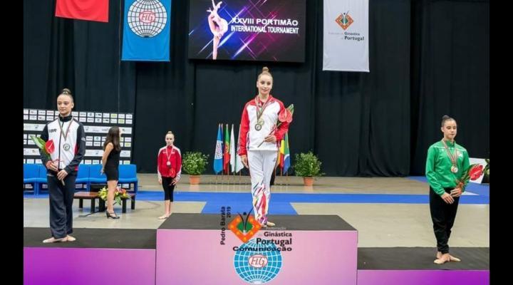 Miruna Ciocîrlan, 4 medalii obţinute în cadrul Turneului Internaţional de la Portimao