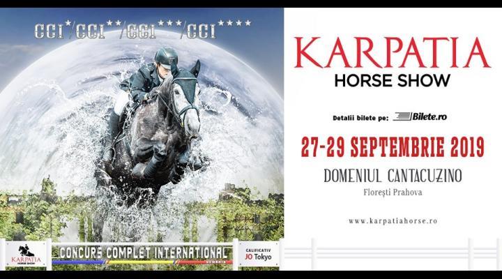 Karpatia Horse Show va avea loc în perioada 27 – 29 septembrie/ Rezultatele îi vor propulsa pe călăreți în drumul spre calificările de la JO