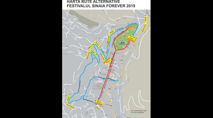 Restricții de circulație în Sinaia, în acest week-end