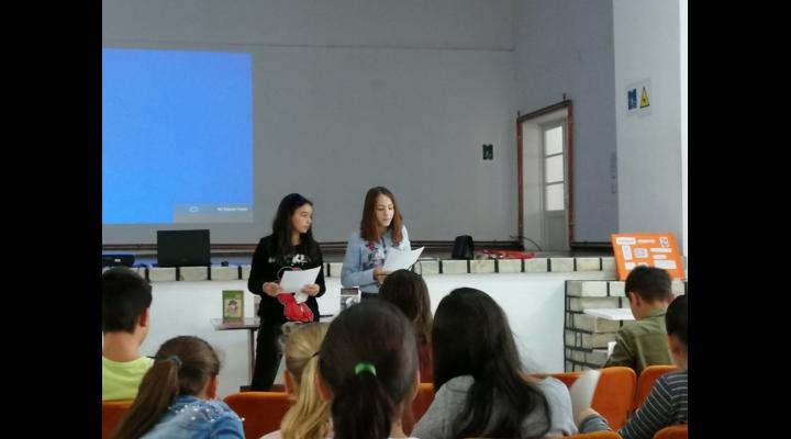 Elevii din Baicoi au marcat astazi 161 de ani de la nasterea scriitorului Alexandru Vlahuta