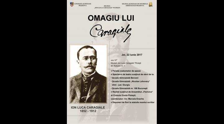 Caragiale va fi omagiat la Ploiești