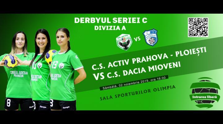 Ploieștenii, așteptați sâmbătă la Sala Sporturilor la meciul oficial C.S. Activ Prahova-Ploiesti VS C.S. Dacia Mioveni 2012
