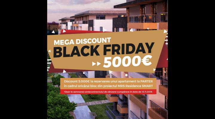 MEGA DISCOUNT DE BLACK FRIDAY LA MRS Residence Ploiesti (P)