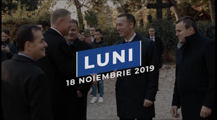 Klaus Iohannis vine luni la Ploiești