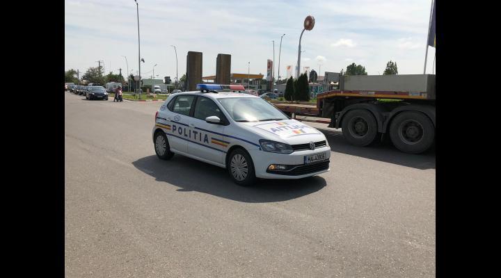 Polițiștii prahoveni, în alertă după ce din podul unui magazin s-au auzit zgomote suspecte