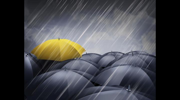 Cod GALBEN de ploi în 13 localități din Prahova, până la ora 21:00