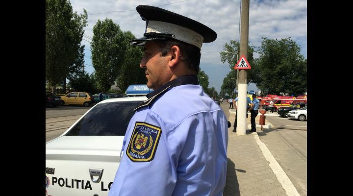 Poliția Locală aplică sancțiuni contravenționale pentru oprirea, staționarea, parcarea autovehiculelor și accesul interzis