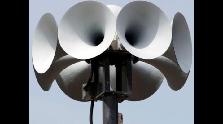 Miercuri, sirenele de alarmare publică vor fi acționate în întreg județul