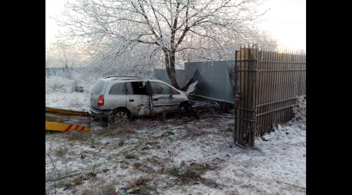 Trei persoane au fost ranite in urma unui accident produs in Moara Noua
