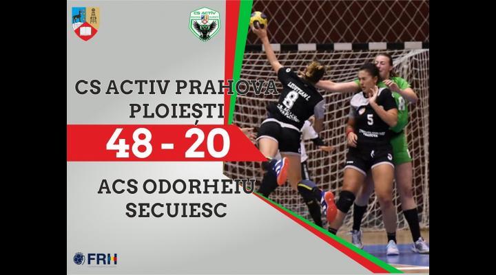 Handbalistele de la CS Activ Prahova - Ploiești au câștigat primul meci oficial de anul acesta