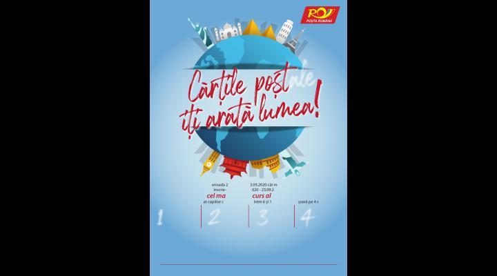 """Lansare concurs """"Cărţile poştale îţi arată lumea"""""""