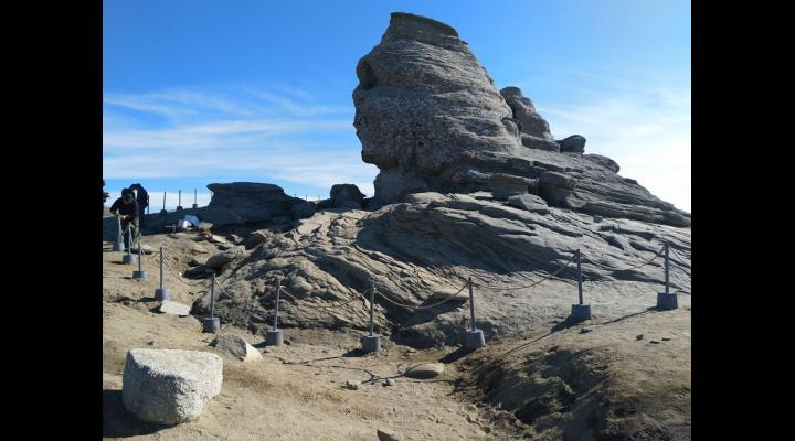 Sfinxul din Bucegi va fi declarat Monument al Naturii