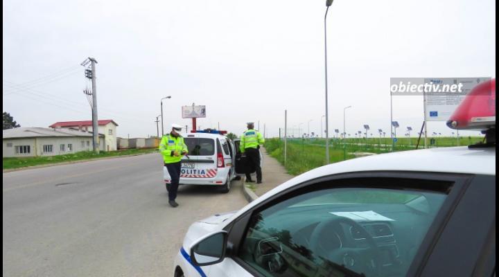 Un șofer nu a oprit la semnalul polițiștilor ploieșteni/A reușit să scape