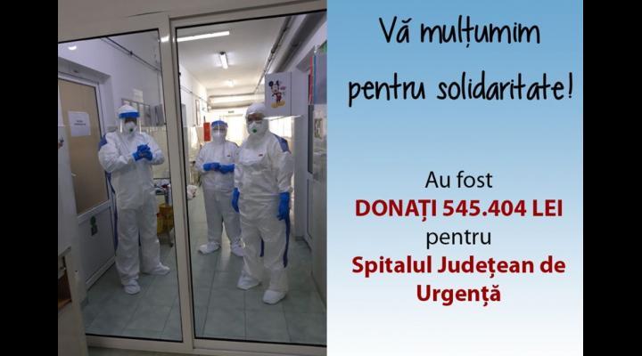 Lista firmelor și persoanelor care au făcut donații Spitalului Județean de Urgență Ploiești