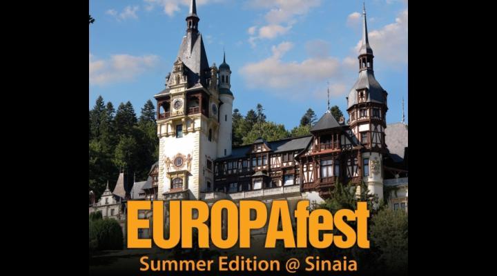 Concerte de jazz si muzică clasică la Sinaia, în cadrul EUROPAfest Summer Edition