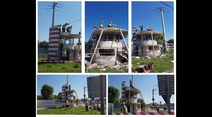 Fostul post de control al Politiei, aflat la iesirea din Ploiesti, va fi demolat!