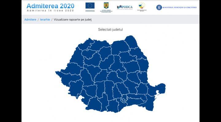 5099 absolvenţi ai clasei a VIII-a au fost repartizaţi computerizat în învăţământul liceal de stat (anul școlar 2020-2021) din județul Prahova
