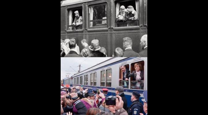 Trenul Regal, cu ocazia centenarului bătăliilor de la Mărăşti, Mărăşeşti şi Oituz