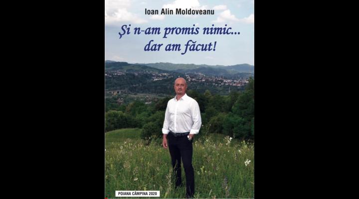 """Alin Moldoveanu, candidat independent la Primaria Campina, a lansat cartea """"Și n-am promis nimic... dar am făcut!"""", in care isi prezinta activitatea - VIDEO"""