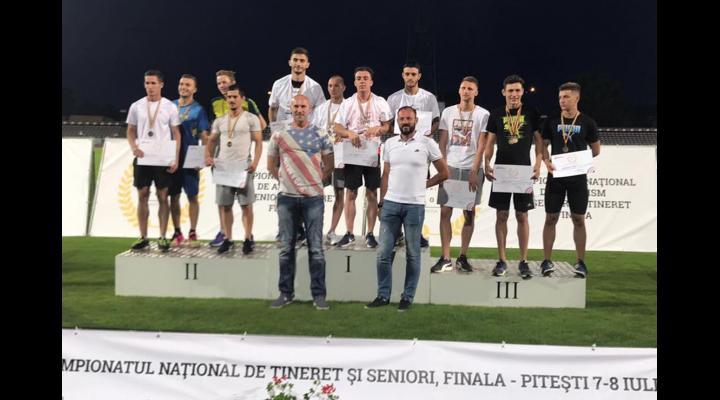 Atleții de la CSM Ploiești, de 3 ori aur la finalele campionatului național de seniori și tineret!