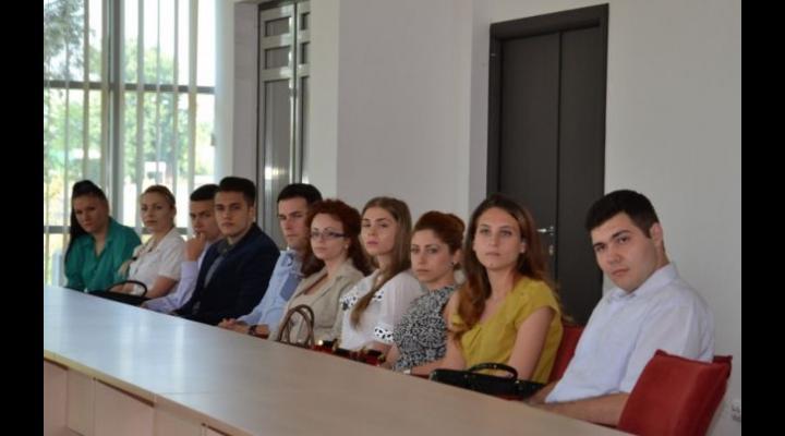 O nouă serie de studenţi, la ADR Sud Muntenia pe perioada vacanţei!