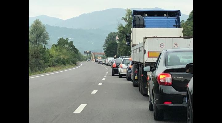 Inevitabil: aglomerație pe Valea Prahovei
