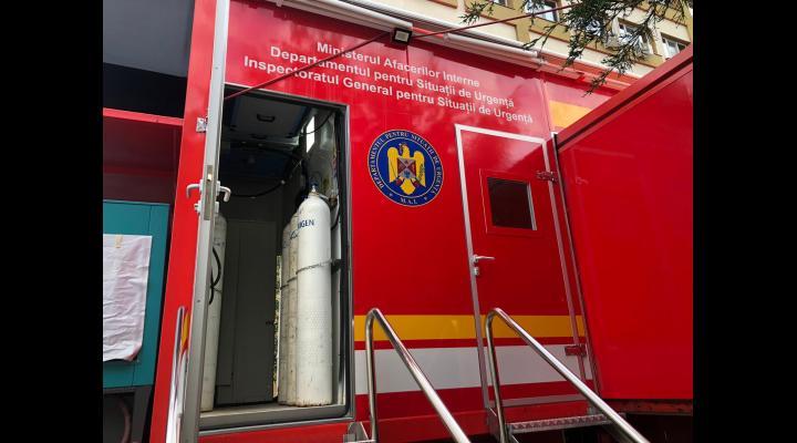 Conducerea Spitalului Județean de Urgență Ploiești și-a luat angajamentul ca de mâine unitatea mobilă de Terapie Intensivă să devină operațională. Unde au mai fost identificate locuri pentru pacienții COVID