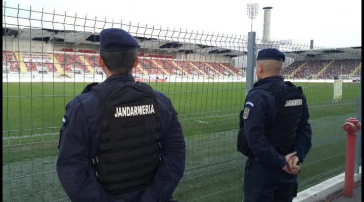 Jandarmii vor asigura măsuri de ordine publică în zona  Stadionului ,,Ilie Oană'' cu ocazia desfășurării meciului de fotbal dintre echipele PETROLUL-U.CRAIOVA 1948 S.A