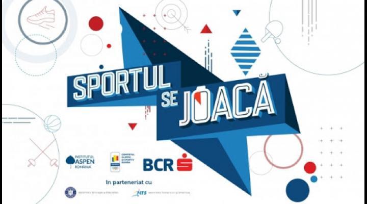 """A fost lansată platforma online """"Sportul se Joacă""""/Ce presupune"""
