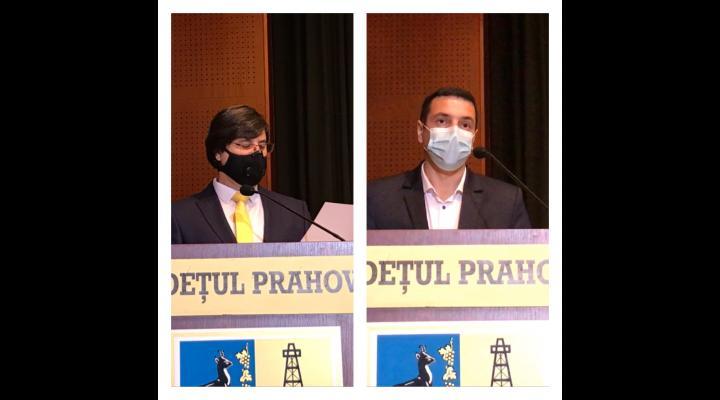 Dumitru Tudone si Cristian Apostol, noii vicepresedinti ai Consiliului Judetean Prahova